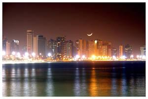 Fortaleza Skyline at Night 2