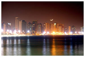 Fortaleza Skyline at Night 2
