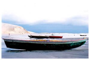 Boat in Jericoacoara by maxholanda