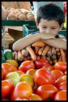 Boy and Fruits by maxholanda