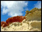 Colorfull Sand Cliffs