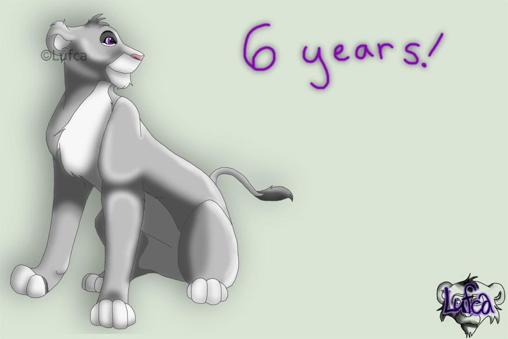 6 Years!! by Lufca