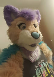 Andromeda Fursuit