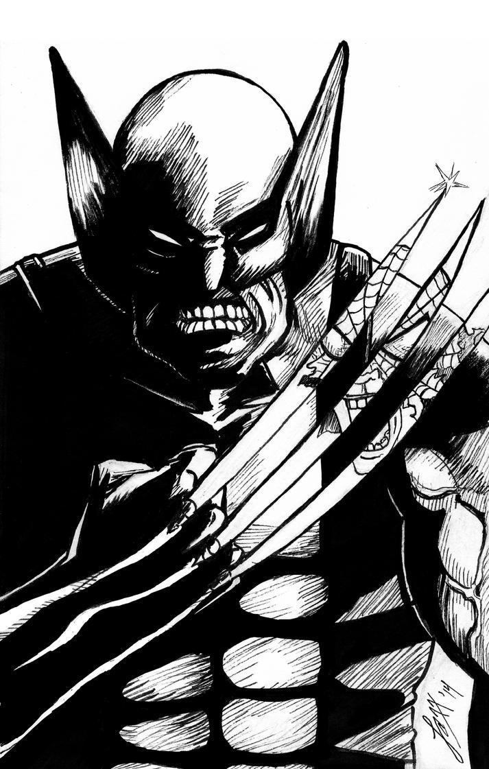 Wolverine by crimson-faerie