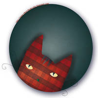 The Red cat by estygia