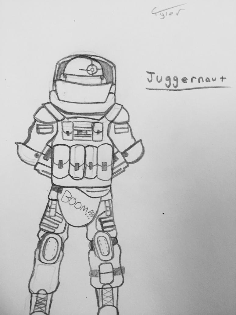 Juggernaut by Sk8man202