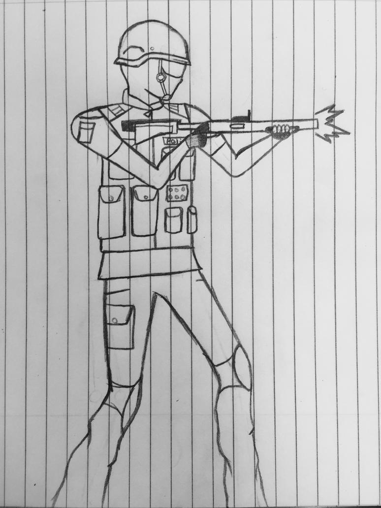 FBI/SWAT Shotgun by Sk8man202