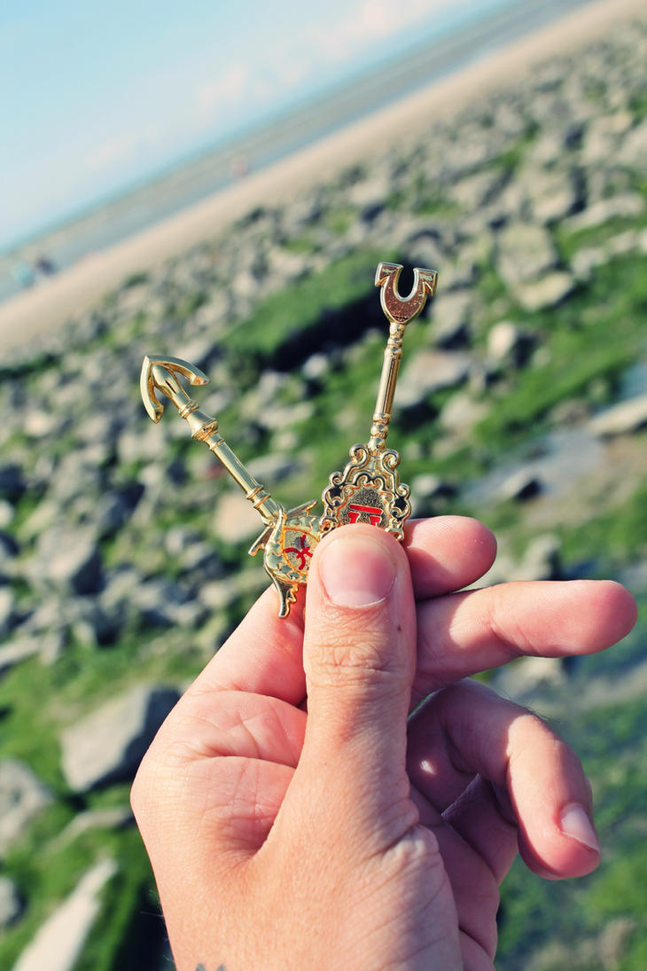 Fairy tail - Yukino's keys by PrueMarvell
