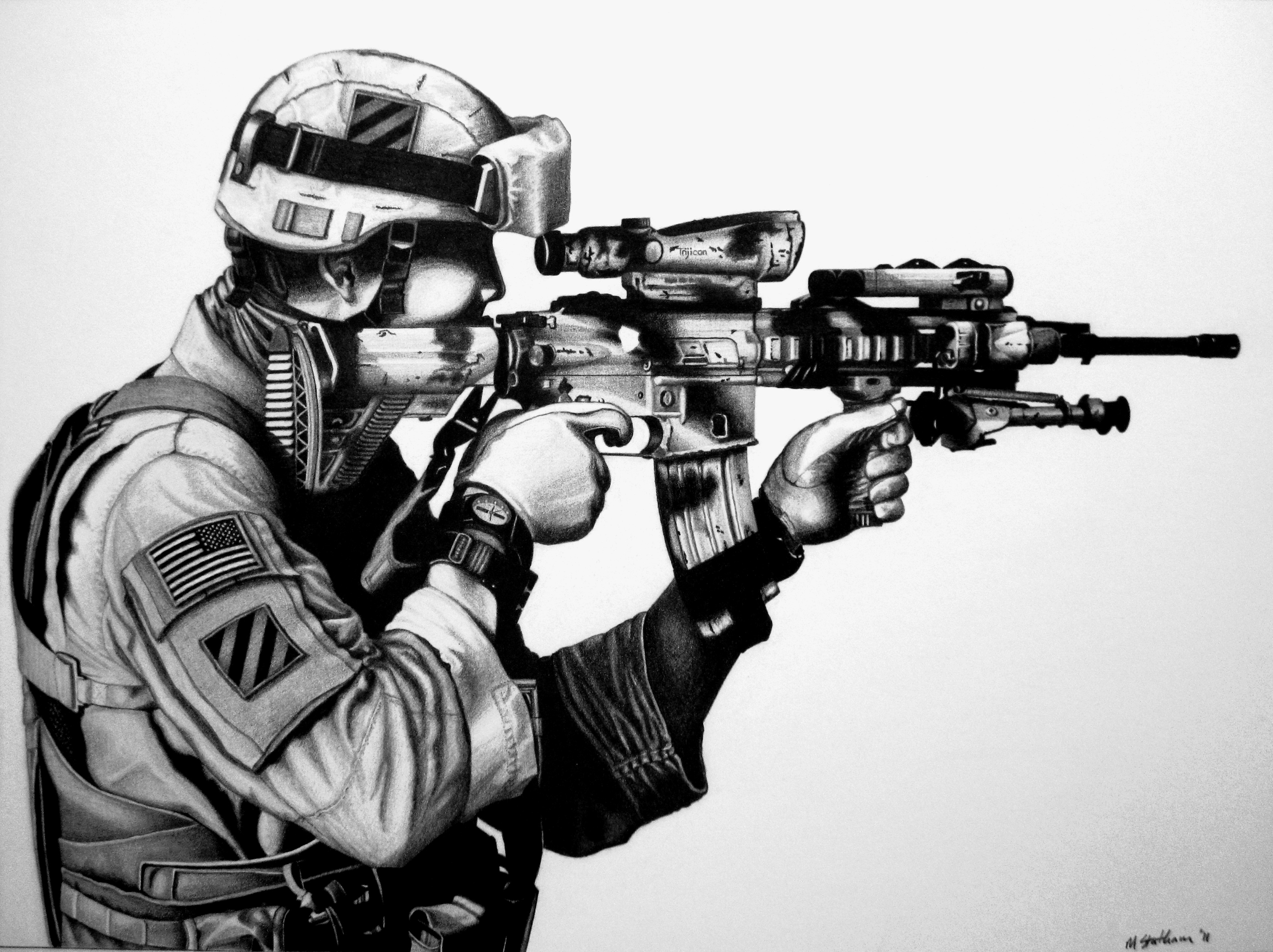 Us Army Soldier By Statham75 On Deviantart