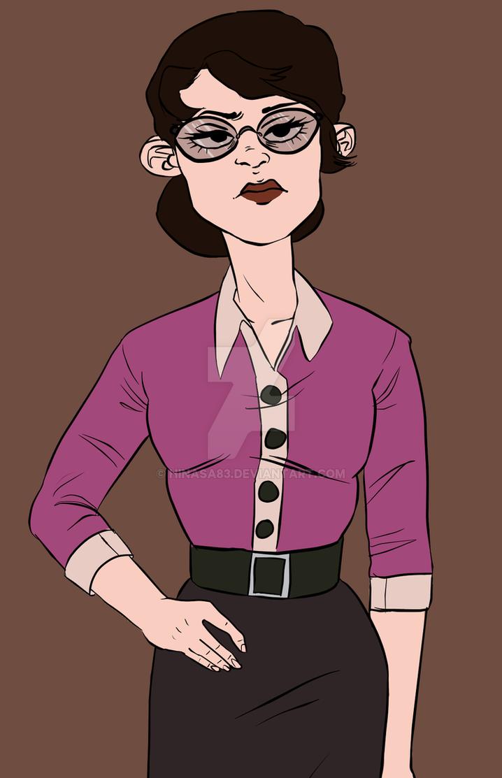 Ms. Pauling by hinasa83