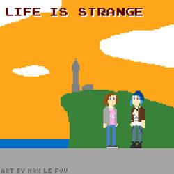 Life is Strange pixel art by maxlefou