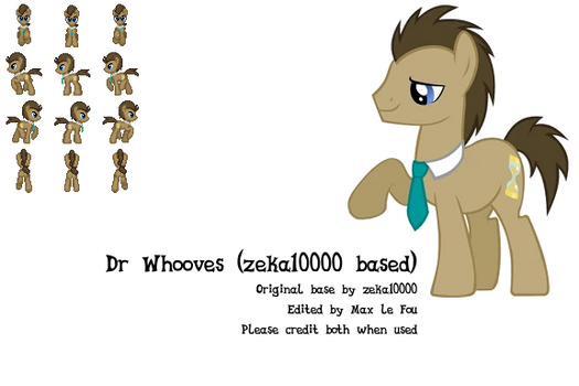 RPG Maker MV sprite - Dr Whooves (zeka10000 base)
