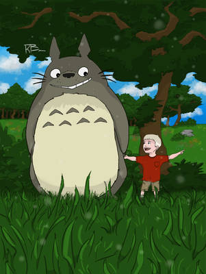 My Friend, Totoro by Archaes8