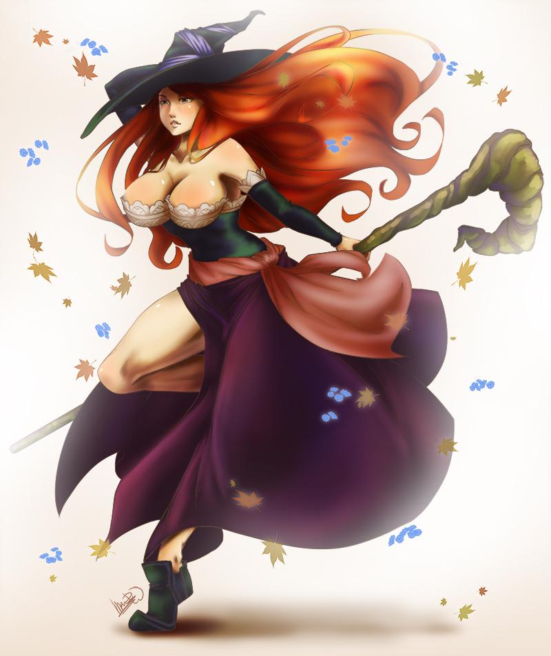 Dragon S Crown Sorceress By Dhacktrix On Deviantart
