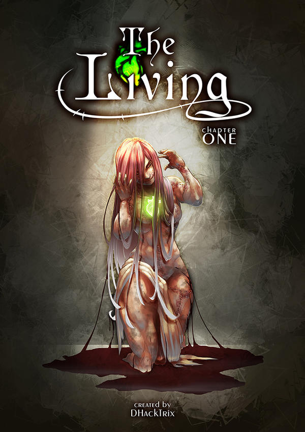 COVER The Living 1 by DHackTrix