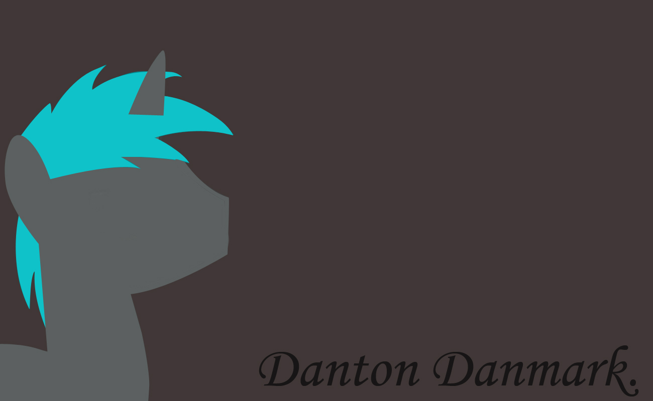 [Surprise] - Danton Damnark Wallpaper by Atomickasskicker