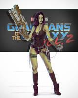  .Gamora - Guardians of the Galaxy Vol.2 by Prostvol