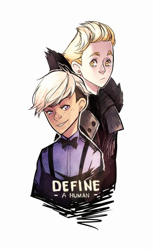 Define: A Human by ctrlkun
