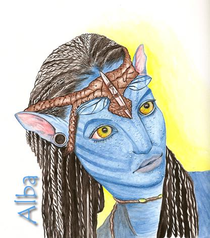 Neytiri film Avatar by lamorghana