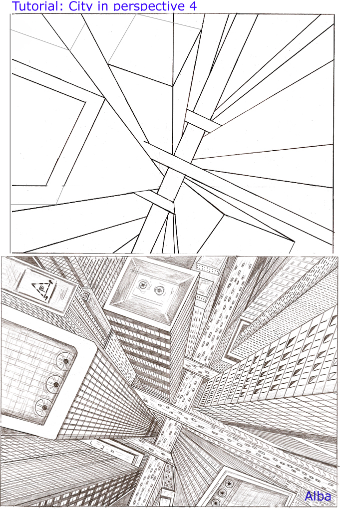Tutorial city perspective 4 by lamorghana on deviantart for 4 1 architecture view