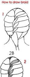 Tutorial draw Braid by lamorghana