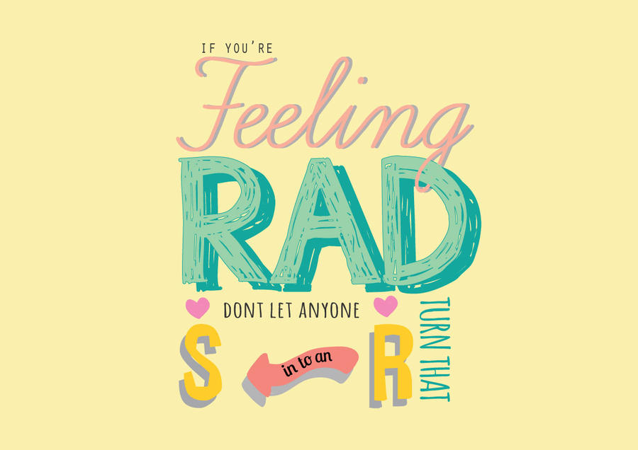 Rad by ohsparrowsong