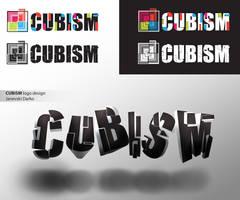 Cubism logo design by darkman4e