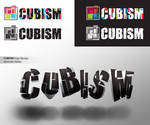 Cubism logo design
