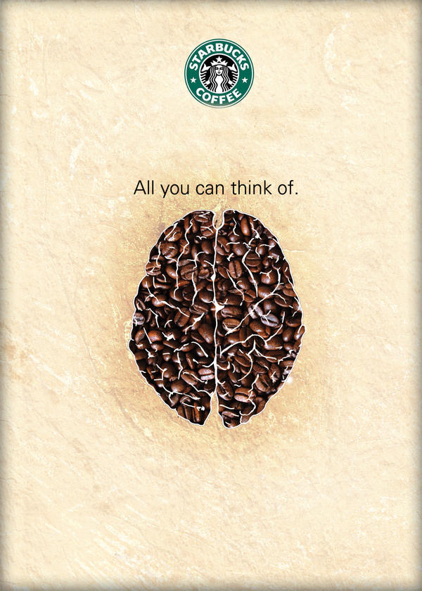 Starbucks Coffee poster design by darkman4e