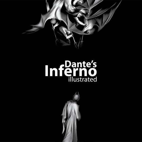 Dante's inferno Bookcover by darkman4e