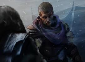 Spartacus vs Cryxus by GreenTaldarin