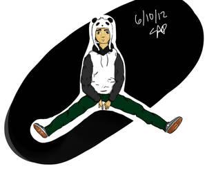 Pandaman by SamAP