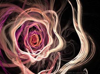 See, I drew u a Rose, darlin' by debdj