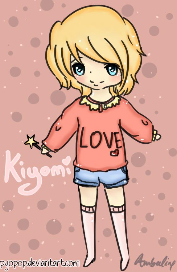 Kiyomi [Mochii-Sama's OC Arttrade] by PyoPop