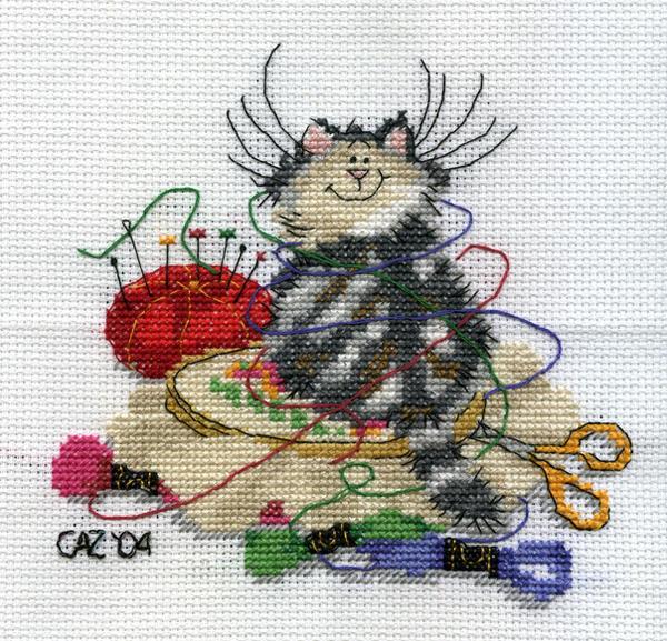 Crafty Cat by gatchacaz