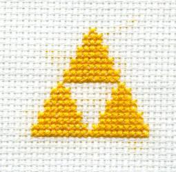 Zelda Triforce by gatchacaz