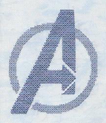 +Blackwork+ Avengers Assemble by gatchacaz
