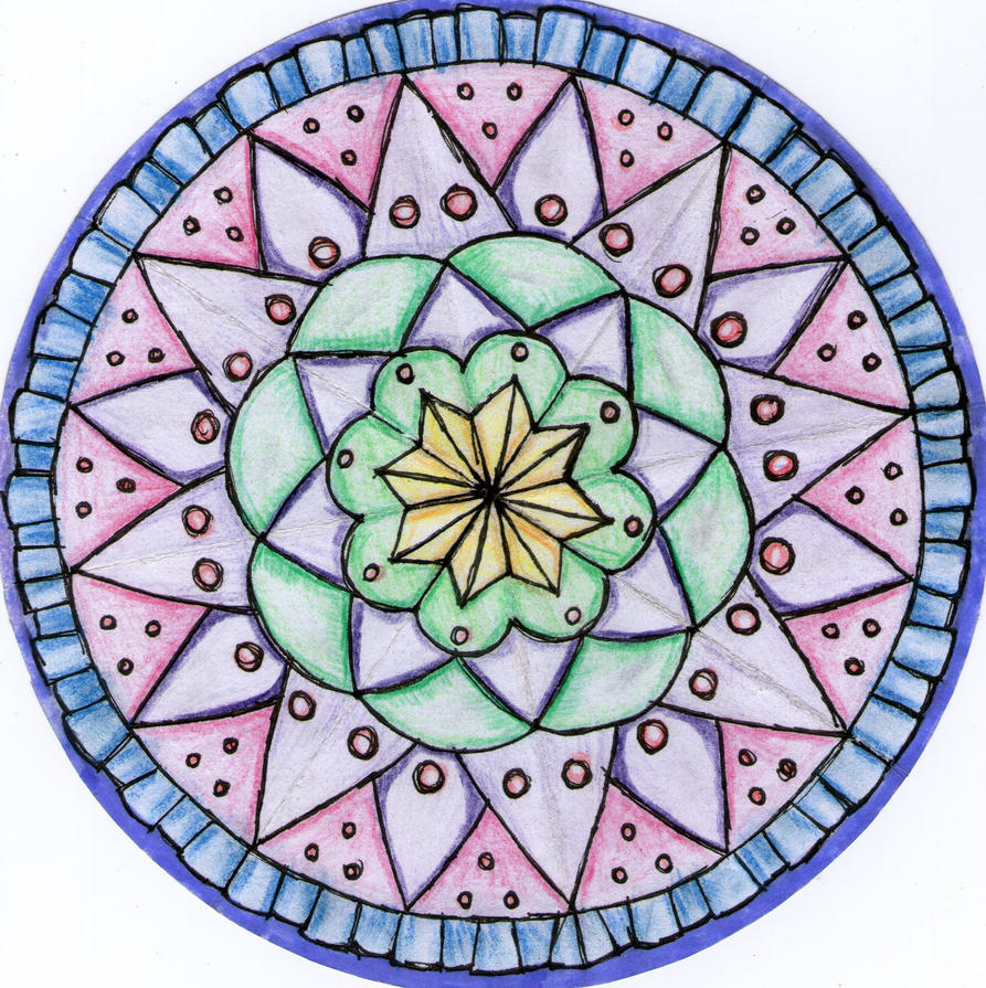 Radial Design Art : Radial balance design by sugarisacookies on deviantart