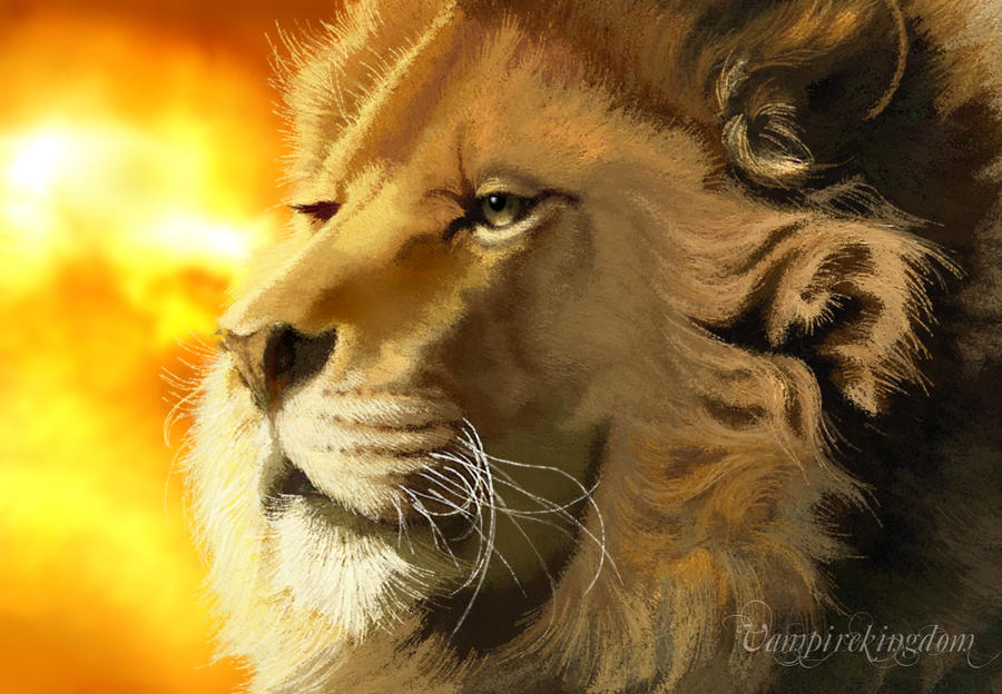 Aslan of Narnia by vampirekingdom