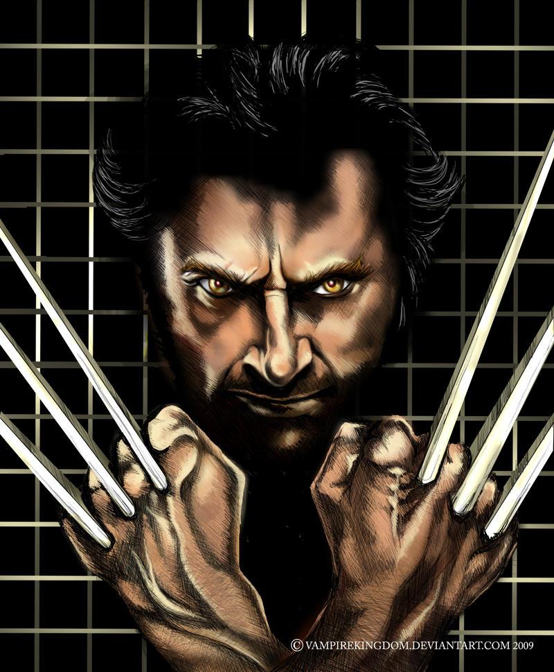Wolverine by vampirekingdom
