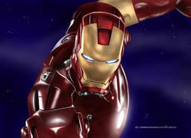 Iron Man by vampirekingdom