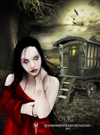 Una visita a la gitana by vampirekingdom