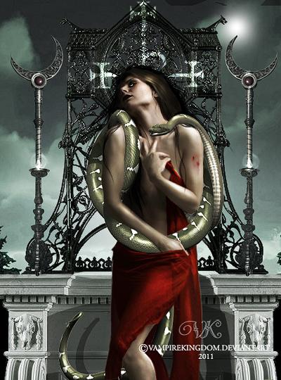 En su altar by vampirekingdom