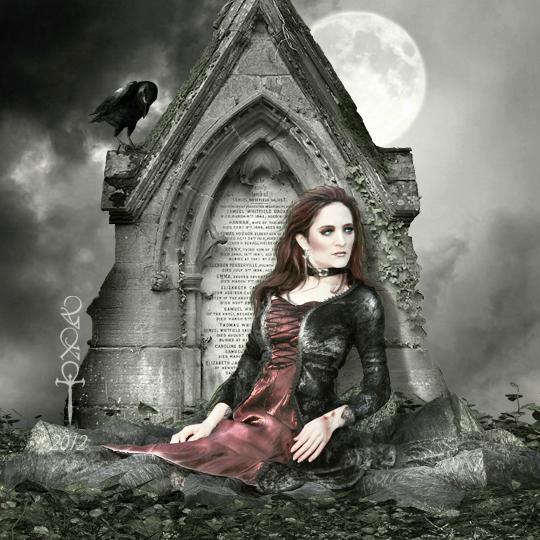 Dark Inscription by vampirekingdom