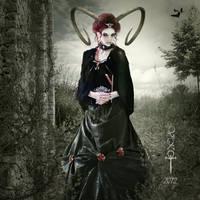 A lonely Queen by vampirekingdom