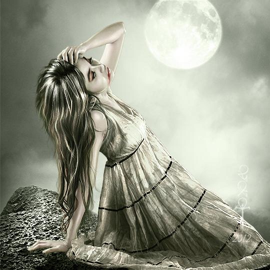 Under the Power of the Moon by vampirekingdom