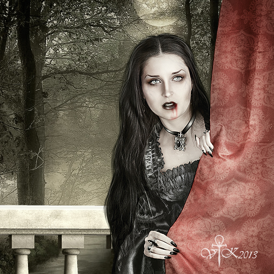 Playing Hide and Seek by vampirekingdom