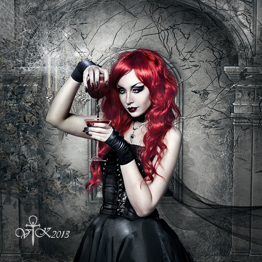 Drink from Me by vampirekingdom