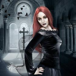 Vampires in the Small Church by vampirekingdom