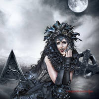 Sinister Beauty by vampirekingdom